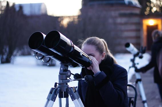Наблюдения Юпитера в бинокуляр.