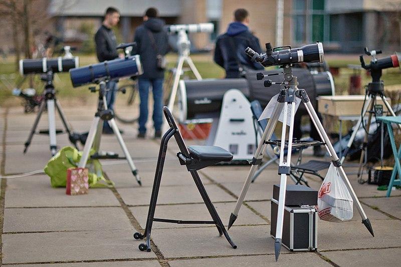 Наблюдательная площадка АстроФеста.