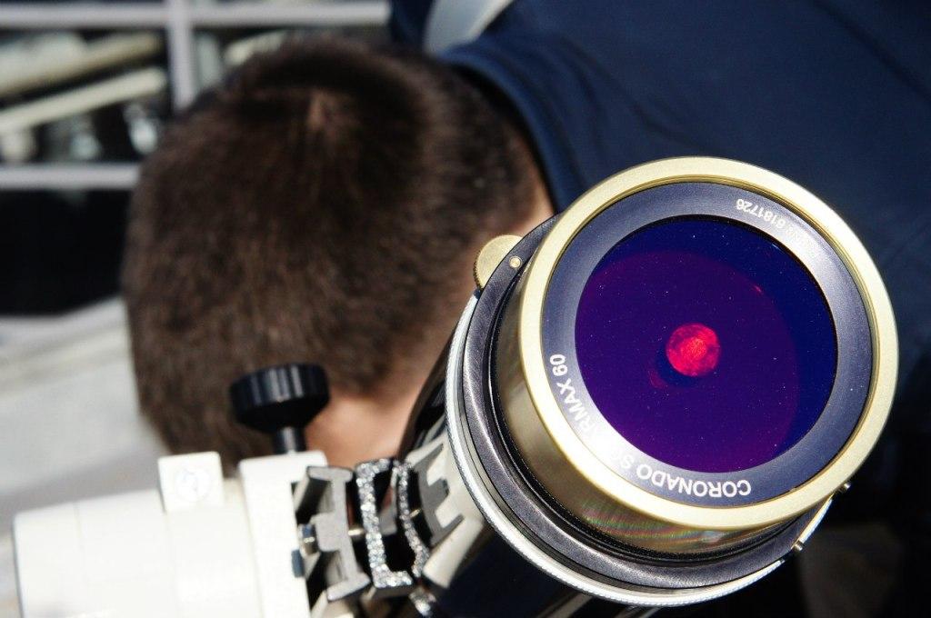 Специальный водородный телескоп Coronado.