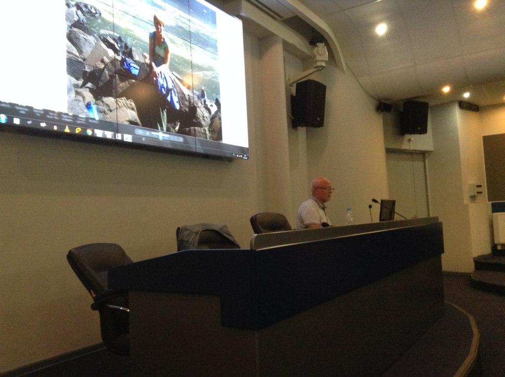 Олег Нигматулин рассказывает о поездке в Южную Африку.